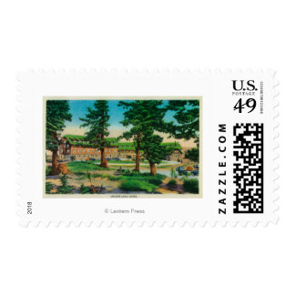 Crater Lake Lodge and Old PinesCrater Lake, OR Postage
