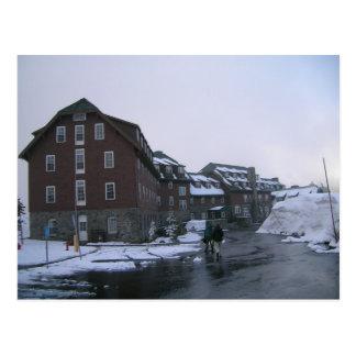 Crater Lake Lodge in June Postcard
