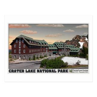 Crater Lake Lodge Postcard