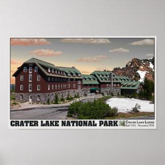 Crater Lake Lodge Poster