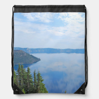 Crater Lake National Park Drawstring Bag