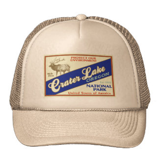 Crater Lake National Park (Elk) Trucker Hat