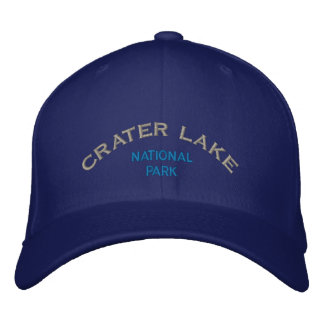Crater Lake National Park Embroidered Baseball Cap