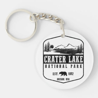 Crater Lake National Park Keychain