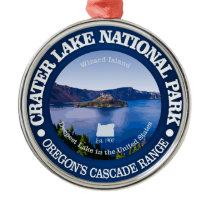 Crater Lake National Park Metal Ornament
