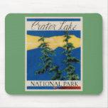 Crater Lake National Park Mousepads