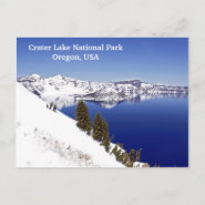 Crater Lake National Park Oregon Travel Postcards