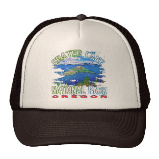 Crater Lake National Park Oregon Trucker Hat