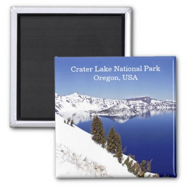 USA Themed Crater Lake National Park Oregon USA Travel Magnet