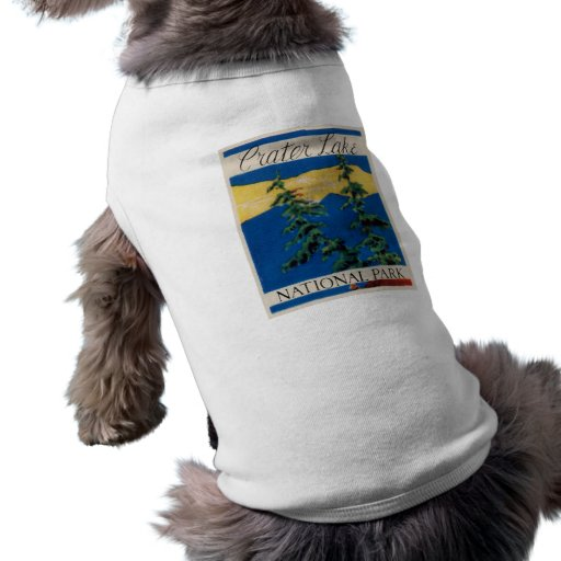 Crater Lake National Park Pet Tshirt