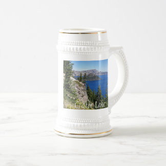 Crater Lake National Park Photo Beer Stein