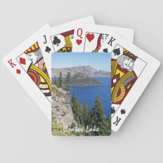 Crater Lake National Park Photo Playing Cards
