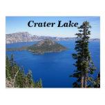 Crater Lake National Park Photo Postcard