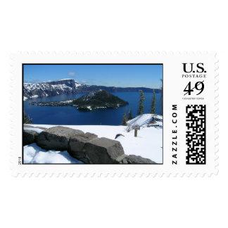 Crater Lake National Park Stamp