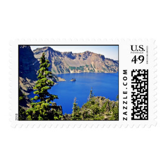 Crater Lake National Park Postage Stamps