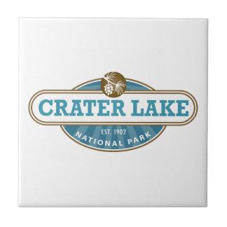 Crater Lake National Park Tile