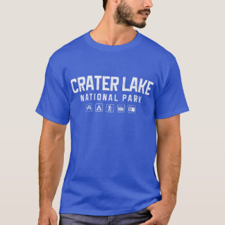 Crater Lake National Park Tshirt (dark)