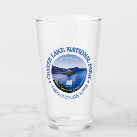Crater Lake NP Glass