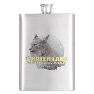 Crater Lake NP (Lynx) WT Hip Flask