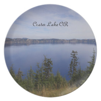 Crater Lake OR Plate