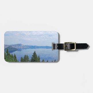 Crater Lake Oregon Bag Tag