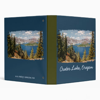 Crater Lake Oregon Binder