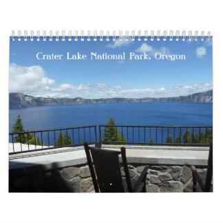 Crater Lake Oregon Calendar