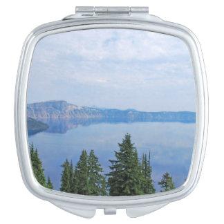 Crater Lake Oregon Compact Mirror