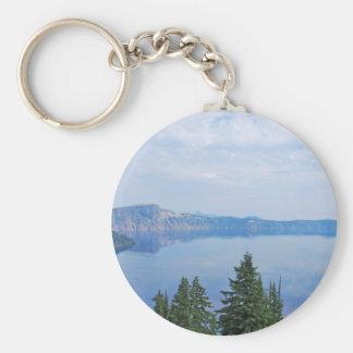 Crater Lake Oregon Keychain