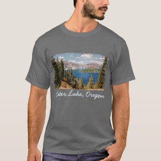 Crater Lake Oregon Men's Shirt
