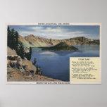 Crater Lake, Oregon - Observation Poster