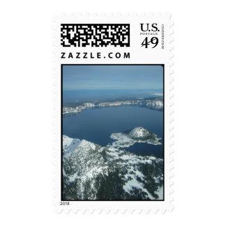Crater Lake, Oregon Stamp