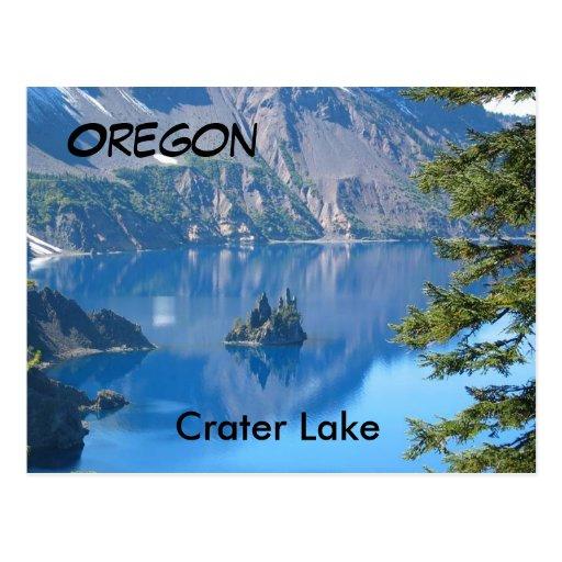 Crater Lake, Oregon Post Card