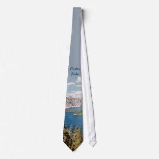 Crater Lake Oregon Tie