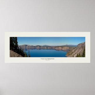 Crater Lake Panorama Posters