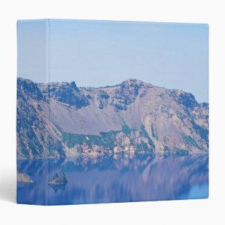 Crater Lake Phantom Ship 3 Ring Binder