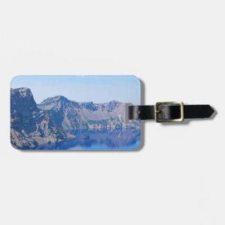 Crater Lake Phantom Ship Luggage Tag