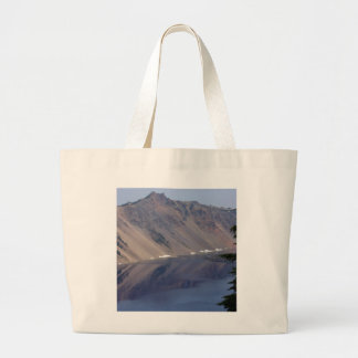 Crater Lake Reflections Canvas Bags