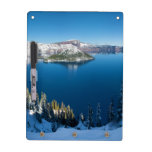 Crater Lake South Central Oregon in Winter Dry Erase Whiteboard