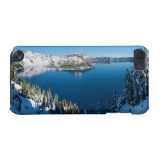 Crater Lake South Central Oregon in Winter iPod Touch (5th Generation) Cover