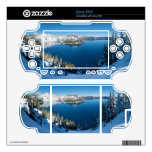 Crater Lake South Central Oregon in Winter Decal For Sony PSP
