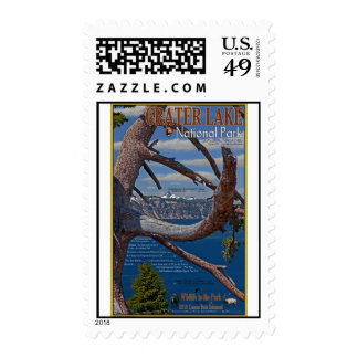 Crater Lake - Summer 2011 Postage