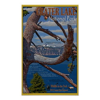Crater Lake - Summer 2011 Poster