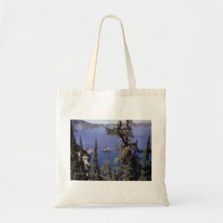 Crater Lake Tote Canvas Bags