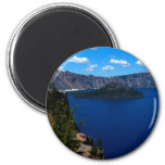 Crater Lake  Wizard Island Magnets