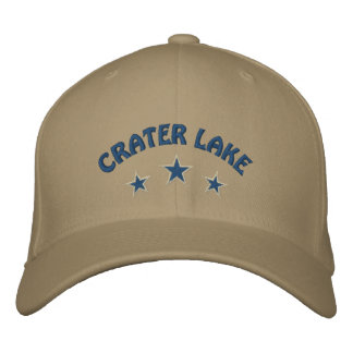 Crater LakeNational Park Embroidered Baseball Cap