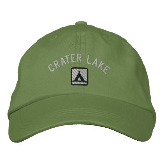 Crater LakeNational Park Embroidered Baseball Hat