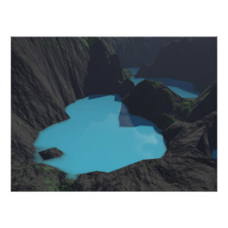Crater Lakes Poster