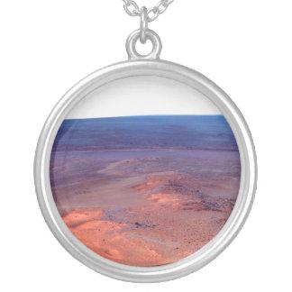 Cráter Marte del esfuerzo de York del cabo del Colgante Redondo