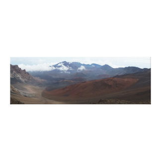 Cráter Maui Hawaii del volcán de Haleakala Impresion De Lienzo